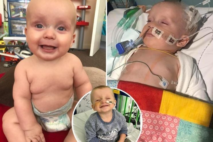 Dying toddler's only hope is a new heart, says mum as she urges everyone to become organ donors