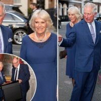 Birthday boy Prince Charles arrives with balloons for special 70th bash with Sun readers
