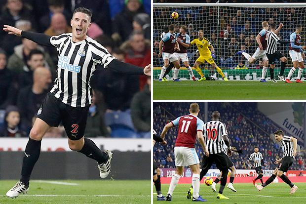 Burnley 1 Newcastle 2: Ciaran Clark's second goal of the season and a Ben Mee own-goal give Magpies first away win of campaign