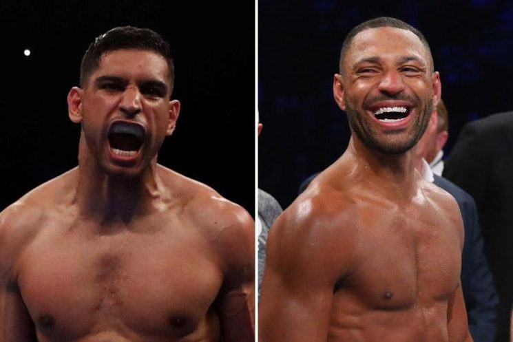 Amir Khan set to finalise clash with Brit rival Kell Brook next month after six years of talks
