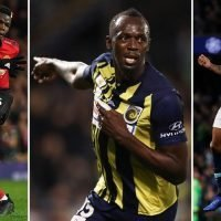 Usain Bolt reveals what Paul Pogba and Raheem Sterling told him ahead of footballing breakthrough