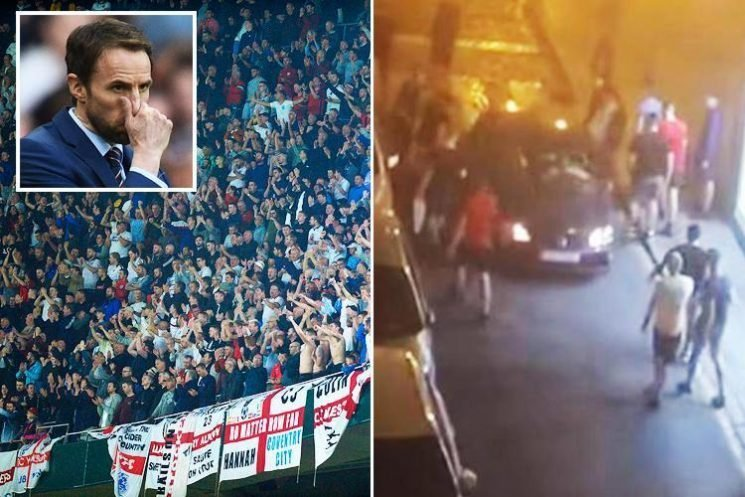 FA already working on ways to crack down on England hooligans heading to Portugal for Nations League Finals