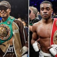 Errol Spence to defend welterweight world title against Mikey Garcia in front of 100,000 fans