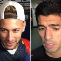 What Luis Suarez said to wind up Neymar while kick-off was delayed for Brazil's win over Uruguay
