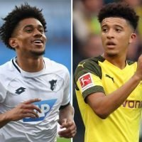 Arsenal loanee Reiss Nelson reveals he wants to play with Germany-based England pal Jadon Sancho one day after starring for Hoffenheim