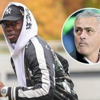 Paul Pogba arrives for France training but Jose Mourinho declares he won't play and might not make next Manchester United game