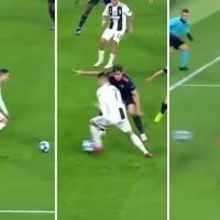 Watch Cristiano Ronaldo's sensational step-over assist in Juventus win has fans drooling