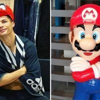 Cristiano Ronaldo dresses as Super Mario but it's not the first time he's worn a costume