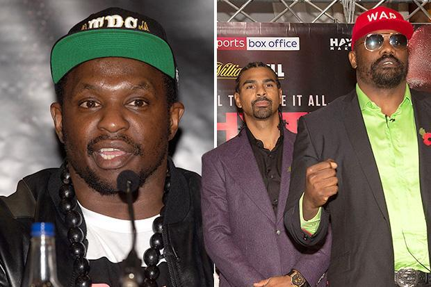 Dillian Whyte says he wants to 'smash' David Haye after he beats Dereck Chisora and calls him out of retirement