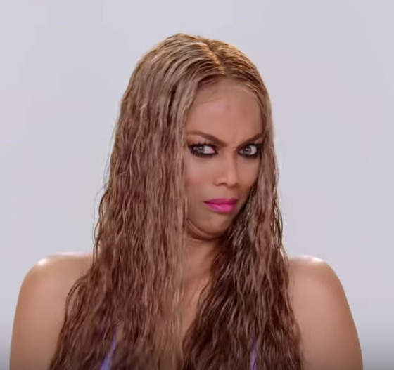 "Tyra Banks Sequel: Tyra Banks Dazzles In Music Video For ""Be A Star 2"" For"