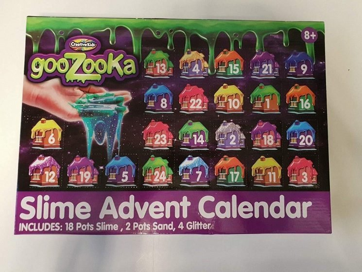 Home Bargain's sold out slime advent calendar is selling for almost FIVE times the original price on eBay