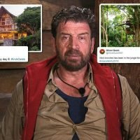 I'm A Celeb fans reckon Nick Knowles will give the dunny a makeover DIY SOS-style
