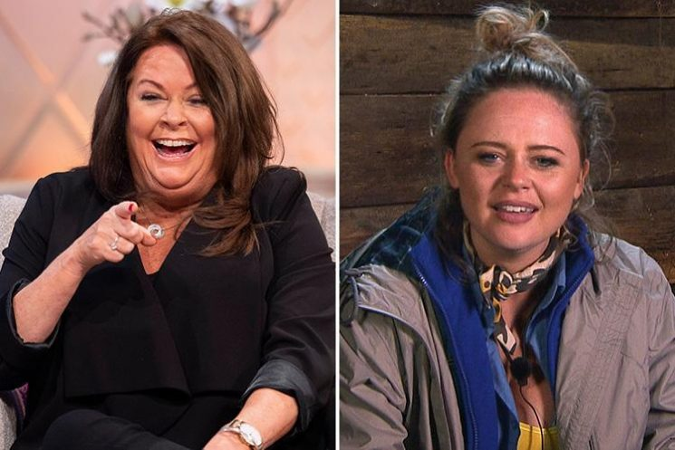 I'm A Celebrity star Emily Atack's mum says her 'bad breath and horrible armpits' will put men in the jungle off