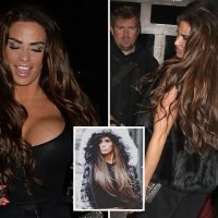Katie Price reveals new £500 brown hair extensions despite bankruptcy battle