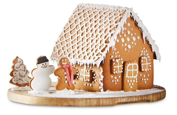 Aldi is selling a DIY 3D gingerbread house baking kit – and its really cheap