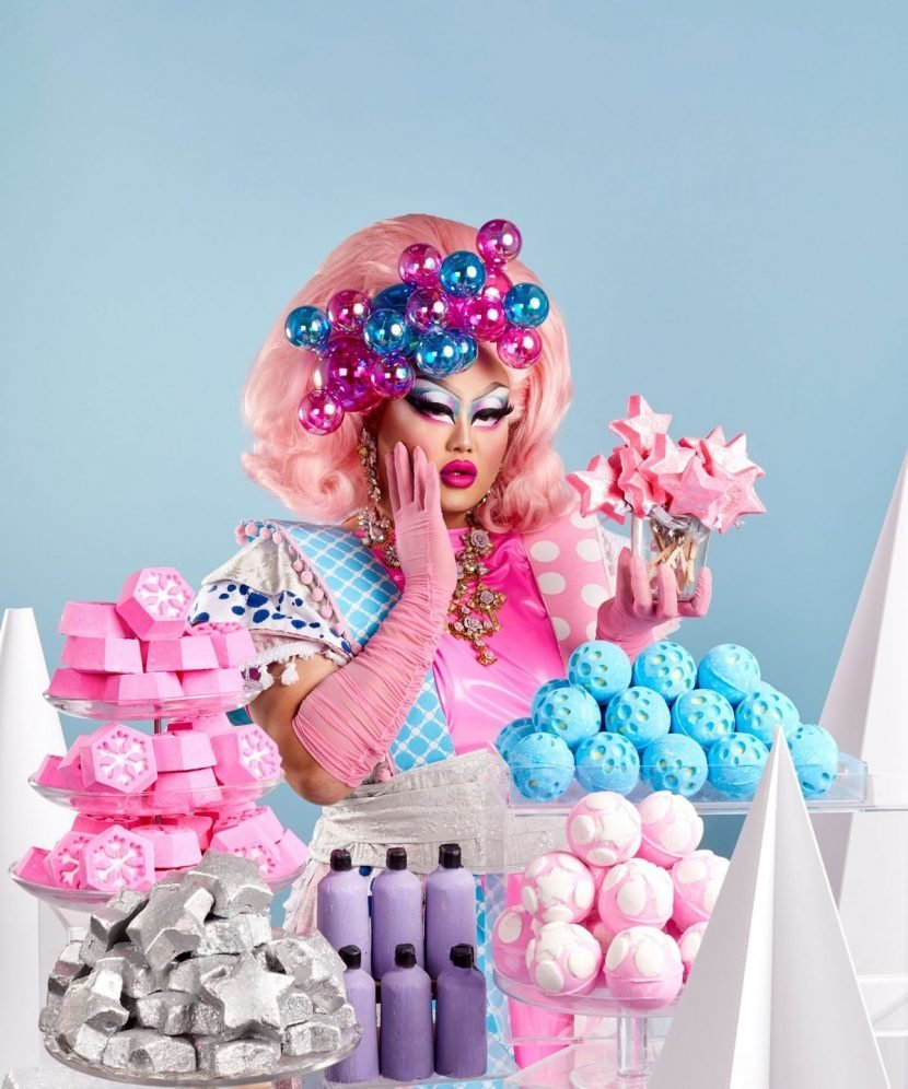 Lush's Drag Queen Bath Bomb Campaign Is The Best Gift You Could Ask For