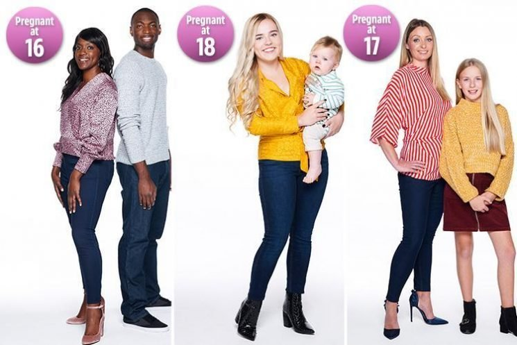 Three mums talk how having babies as teenagers shaped their lives for the better