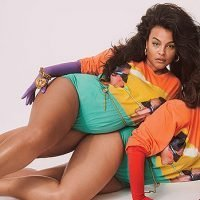 Ashley Graham Flaunts Bare Butt For Sexy 80's Themed 'V' Magazine Shoot