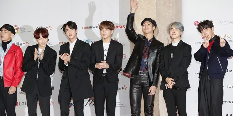 The Boys of BTS Look Handsome While Attending Asia Artist Awards 2018!