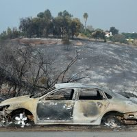 At Least 10 People Have Died in Cars That 'Were Overcome' by California Wildfires