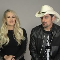 Brad Paisley Reveals His Funny Reaction When He First Saw a Very Pregnant Carrie Underwood