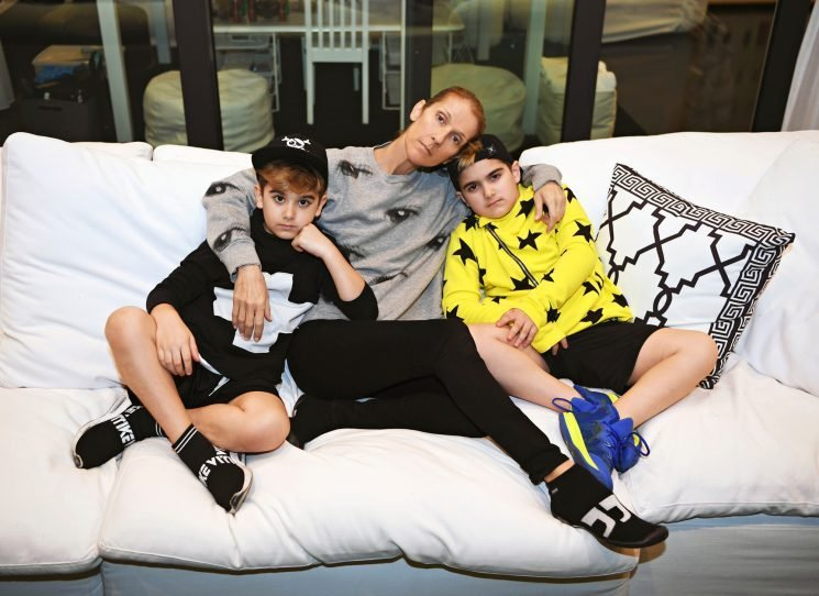 Celine Dion on Raising Twins Eddy and Nelson, 8: 'They Are So Different'