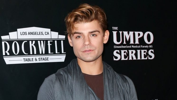 Garrett Clayton Steps Out for 'Unauthorized Parody Of Stranger Things' Musical