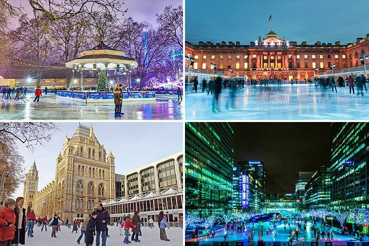 Where can I go ice skating in London over Christmas 2018? From Winter Wonderland to Somerset House and beyond
