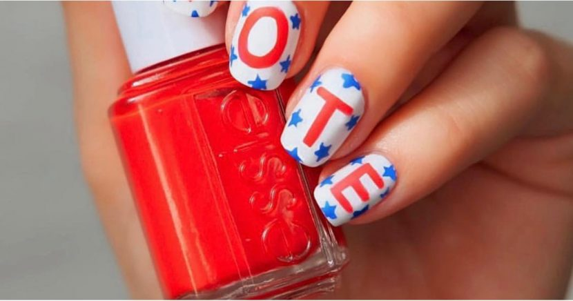 This Nail Art Is Telling You to Vote (and You Should Probably Listen)