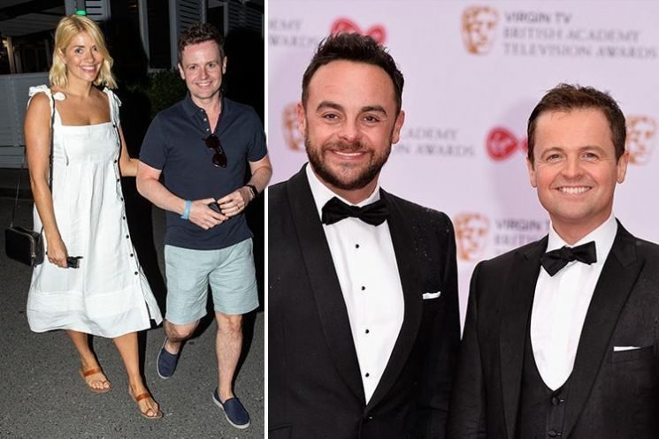 Declan Donnelly chose Holly Willoughby as his I'm A Celebrity co-host because he couldn't bring himself to swap Ant for another bloke