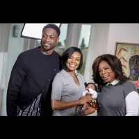 Oprah Winfrey Meets Gabrielle Union and Dwyane Wade's Daughter – See the Cute Photo