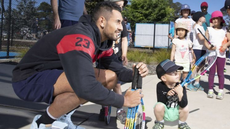 Nick Kyrgios opens up about mental health, foundation and injuries