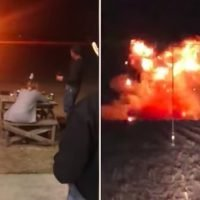 A Texas Woman Blew Up Her Wedding Dress At Her Divorce Party, As One Does