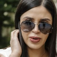 El Chapo's wife stuns as she appears for drug lord's trial