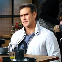 Neighbours' David Tanaka and Aaron Brennan face a crisis after Chloe's health news