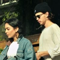 Vanessa Hudgens & Austin Butler Step Out for Romantic Lunch Date