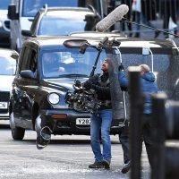 Idris Elba Films a Car Chase for 'Fast and Furious' Spinoff