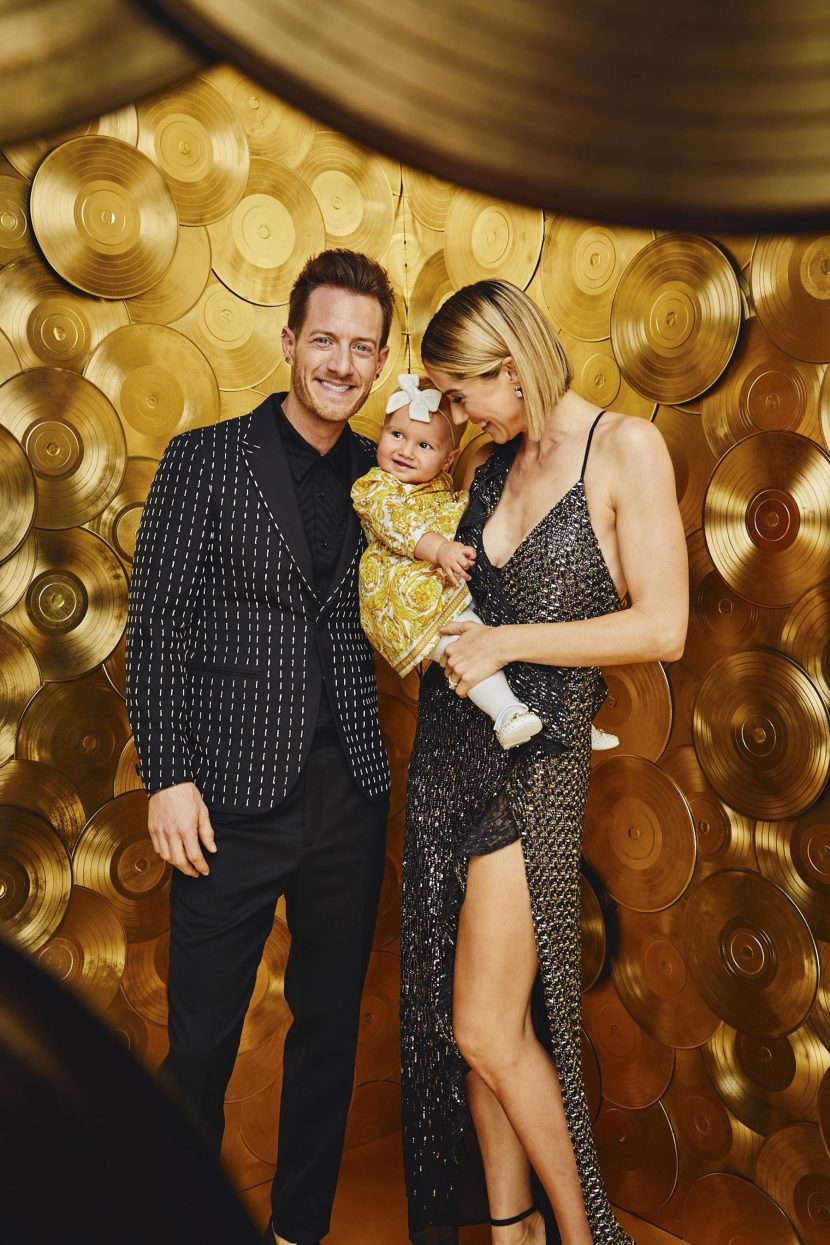 Family Affair! FGL's Tyler Hubbard Brings Wife Hayley and Daughter Olivia to the 2018 CMA Awards