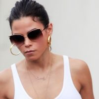 Jenna Dewan Frees The Nipple Going Braless In Sheer Top With New Man Steve Kazee