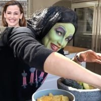 Jennifer Garner Looks Wickedly Good as She Makes Her Homemade Salsa Recipe While Wearing a Witch Costume