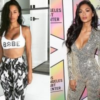 Nicole Scherzinger shows off her incredible body in workout gear on Instagram