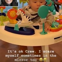 Future CEO! Joanna Gaines Brings 4-Month-Old Son Crew to Work with Her: 'He's Taken Over the Meeting'