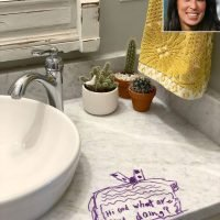 Joanna Gaines Reveals the Reason She 'Loved' That Daughter Emmie Drew on Her Sink with a Marker