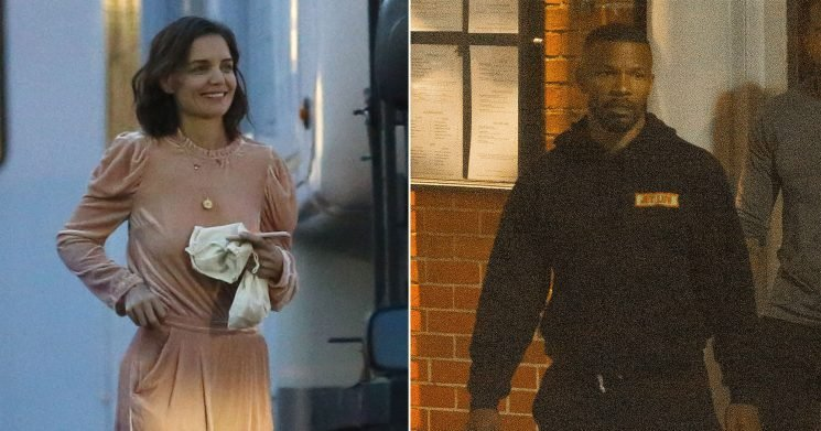 Katie Holmes, Jamie Foxx Enjoy Dinner in NOLA After Engagement Rumors: Pics