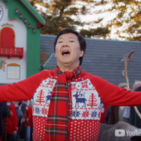 Ken Jeong Wears an Ugly Christmas Sweater in YouTube's Holiday Special