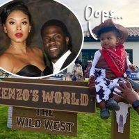 Kevin Hart & His Wife Spark Outrage By Throwing Son 'Cowboys & Indians' Themed Party