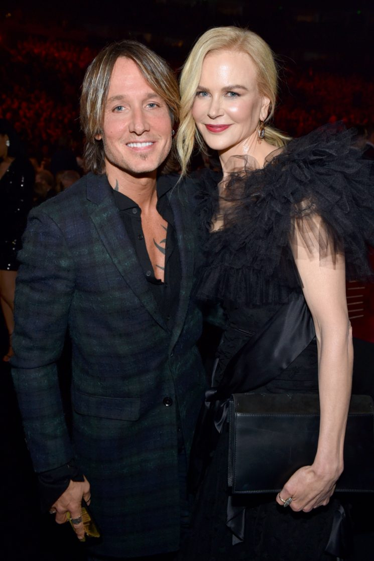 Keith Urban Thanks His Fans in Post-CMAs Clip as Nicole Kidman Giggles in the Background — Watch