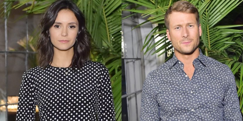 Nina Dobrev & Glen Powell Celebrate Kate Hudson at Michael Kors Dinner!