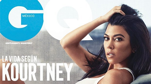 Kourtney Kardashian Goes Braless Under Completely Sheer Leotard In Sexy New 'GQ' Mexico Shoot — Pic