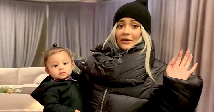 Life on the Road! Kylie Gives Tour of Stormi's Private Room on Tour